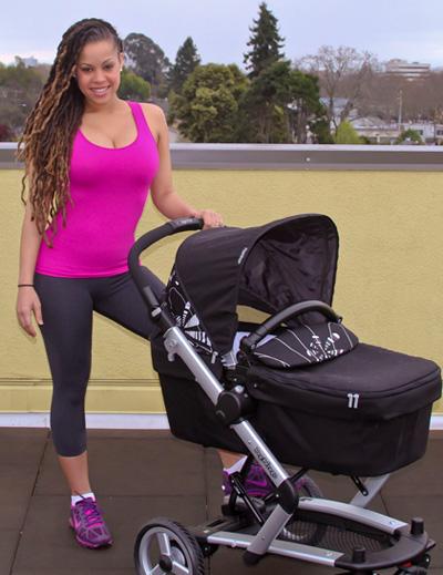 Kamila McDonald Alcock 3 Weeks after baby!