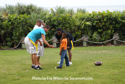 Family Flag Football at Disney's Vero Beach Resort!