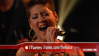 Tessanne Sings Bob Marley's Redemption Song on NBC's the Voice