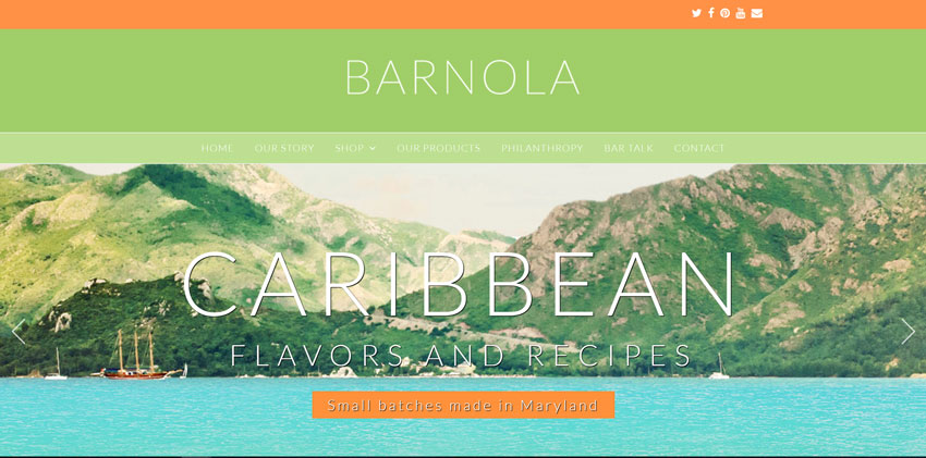 Barnola Website