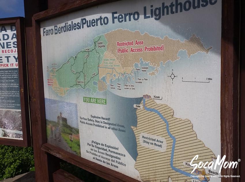 PUERTO FERRO LIGHTHOUSE