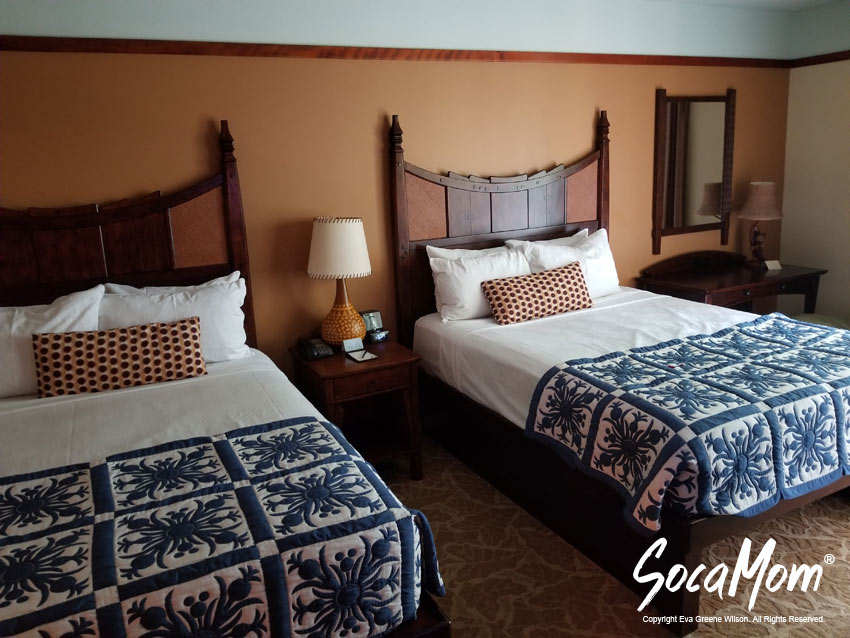 Disney Aulani Resort and Spa Two Bedroom Villa - Second Bedroom Suite with two double beds