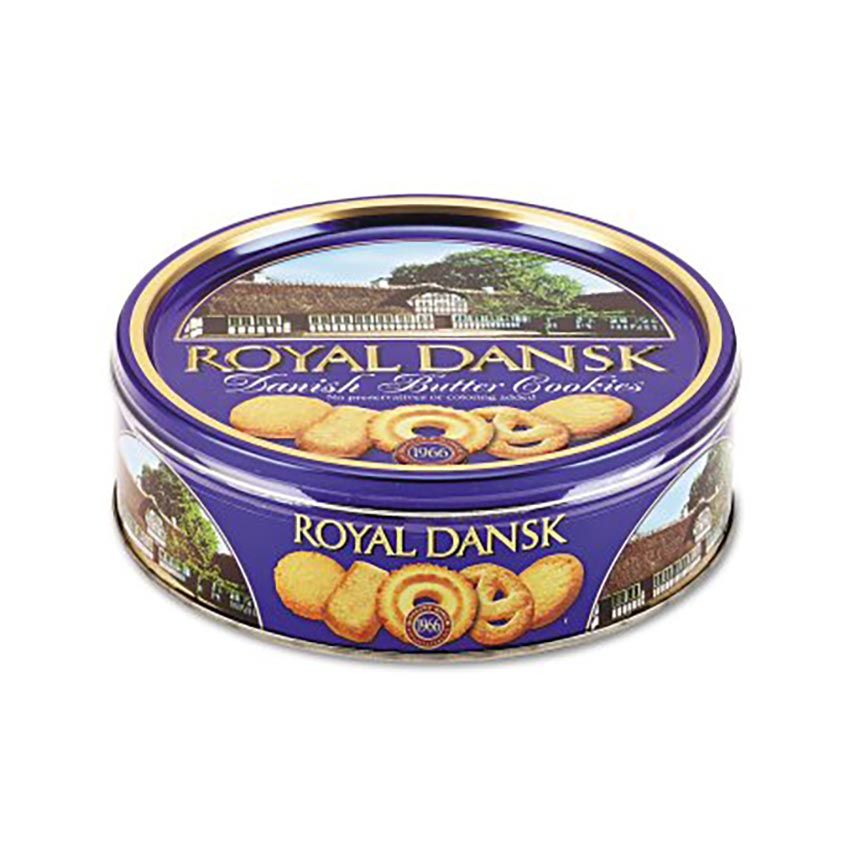 Danish Butter Cookie Tin