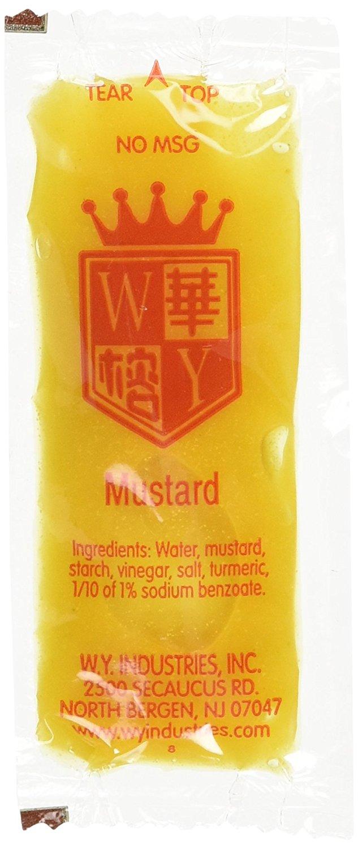 Chinese Restaurant Mustard