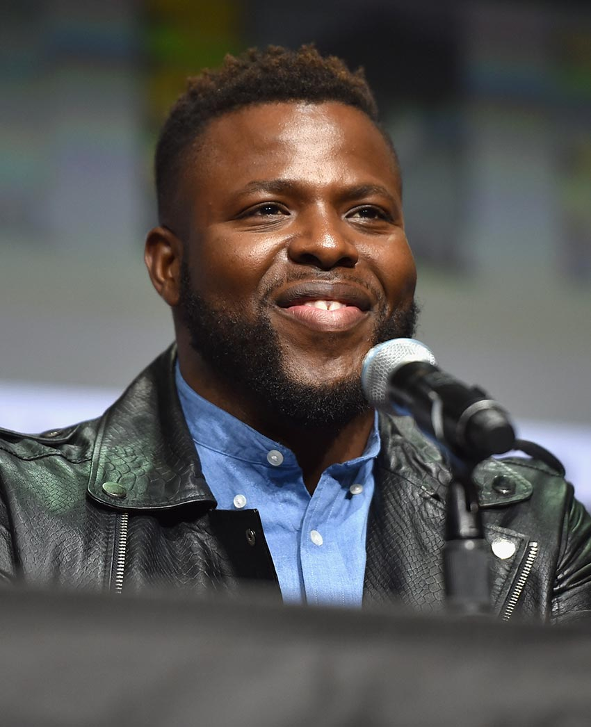 Marvel's Black Panther Winston Duke at Comicon