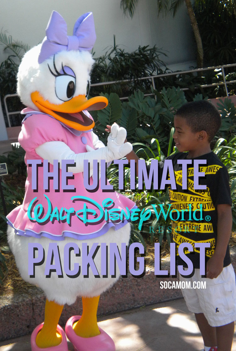 Ultimate Disney World Packing list