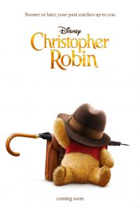 Christopher Robin Movie Poster - Pooh