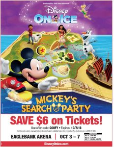 Disney On Ice Mickey's Search Party Coupon