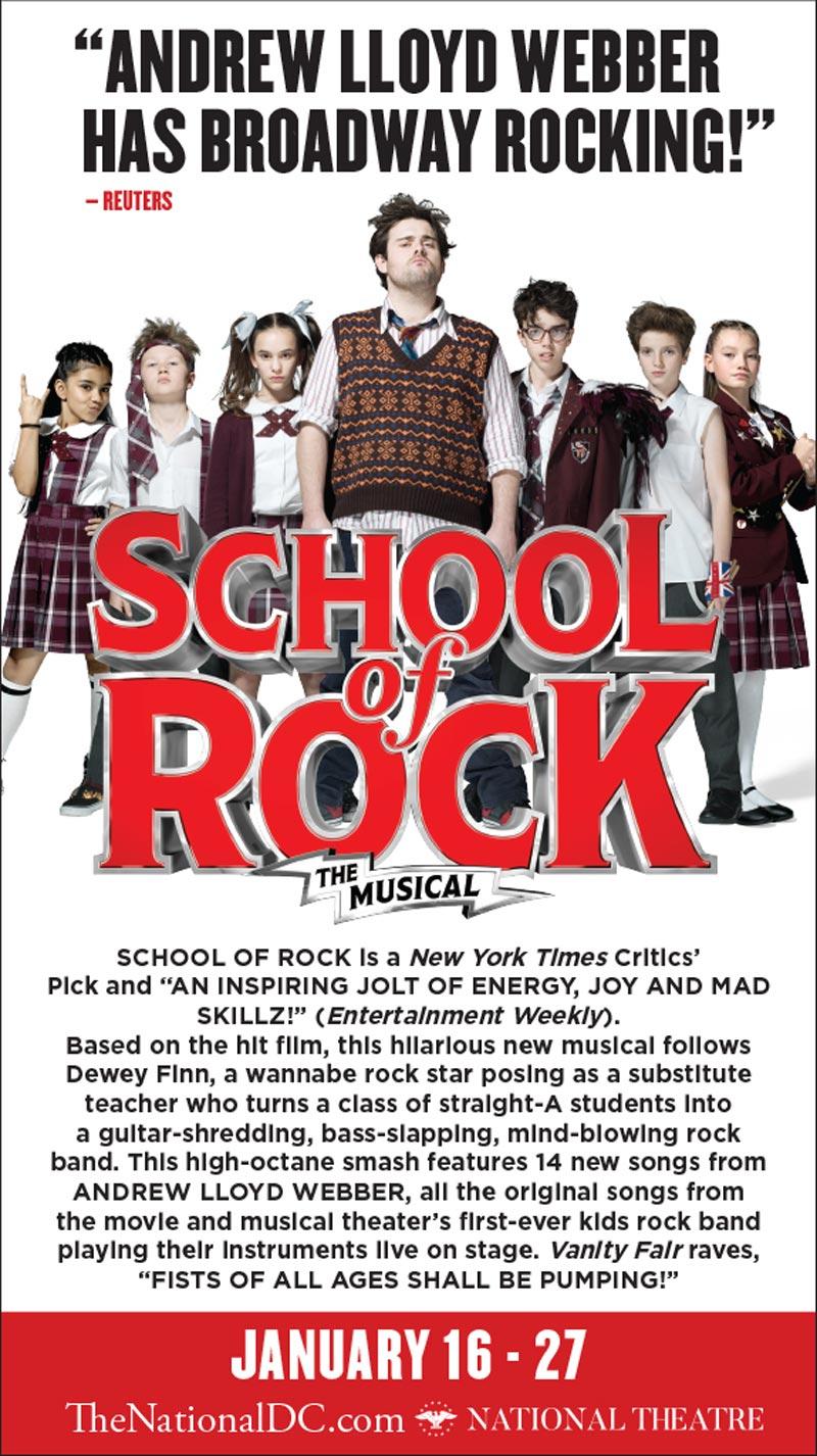 School of Rock Ticket Giveaway