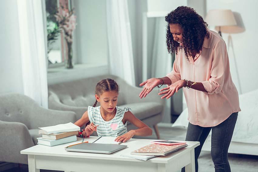 Caribbean Parent and Child Homework