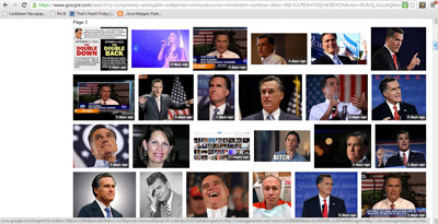 What happens when you type 'completely wrong' in Google Images