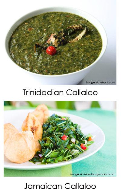 Trinidadian Callaloo vs Jamaican Callaloo :: SocaMom.com