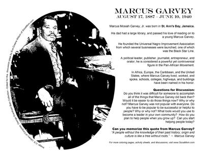 Marcus Garvey :: SocaMom.com