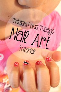 Trinidad Flag Nail Art Tutorial :: SocaMom.com