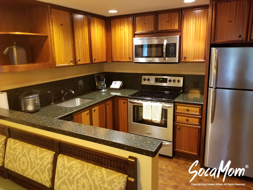 Disney Aulani Resort and Spa Two Bedroom Villa - Full Kitchen