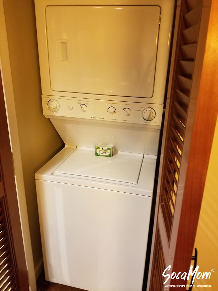 Disney Aulani Resort and Spa Two Bedroom Villa - Washer and Dryer