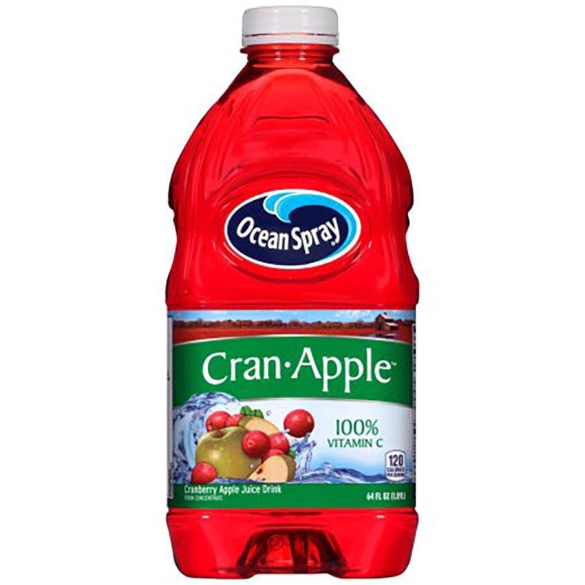 Bottle of Cranberry Apple Juice width=