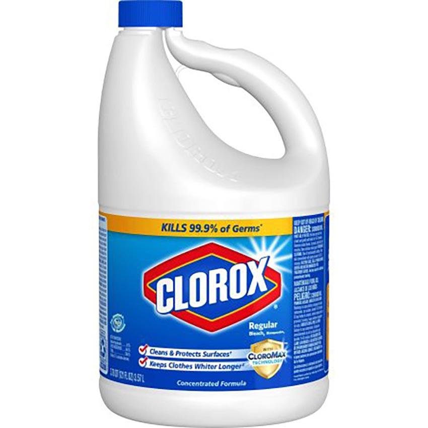 Bottle of Clorox Bleach