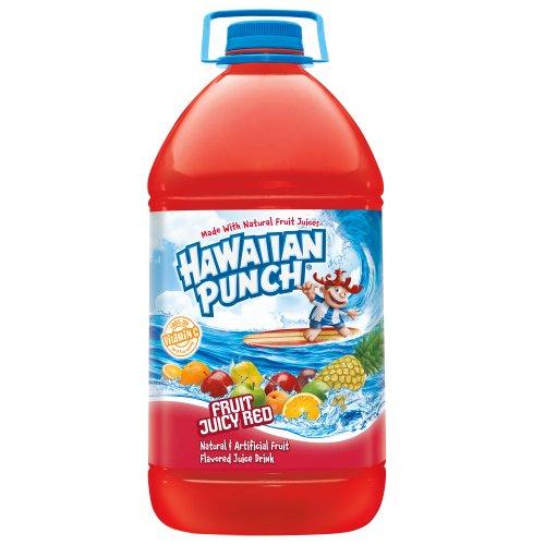 Gallon jug of Hawaiian Punch