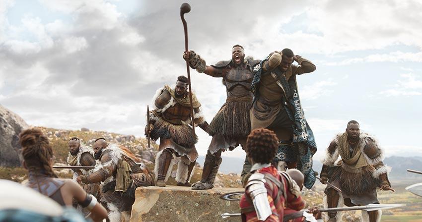 Marvel's Black Panther Winston Duke as M'Baku
