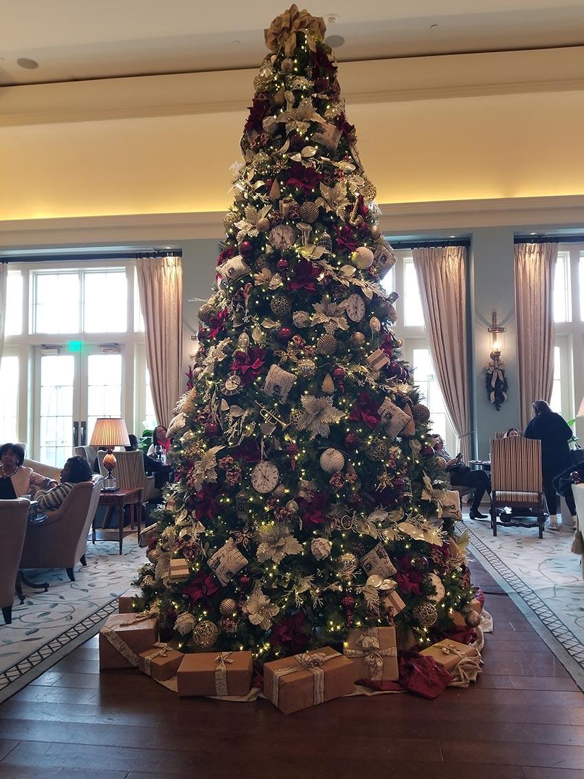 Christmas Tree at Salamander Hotel and Resort