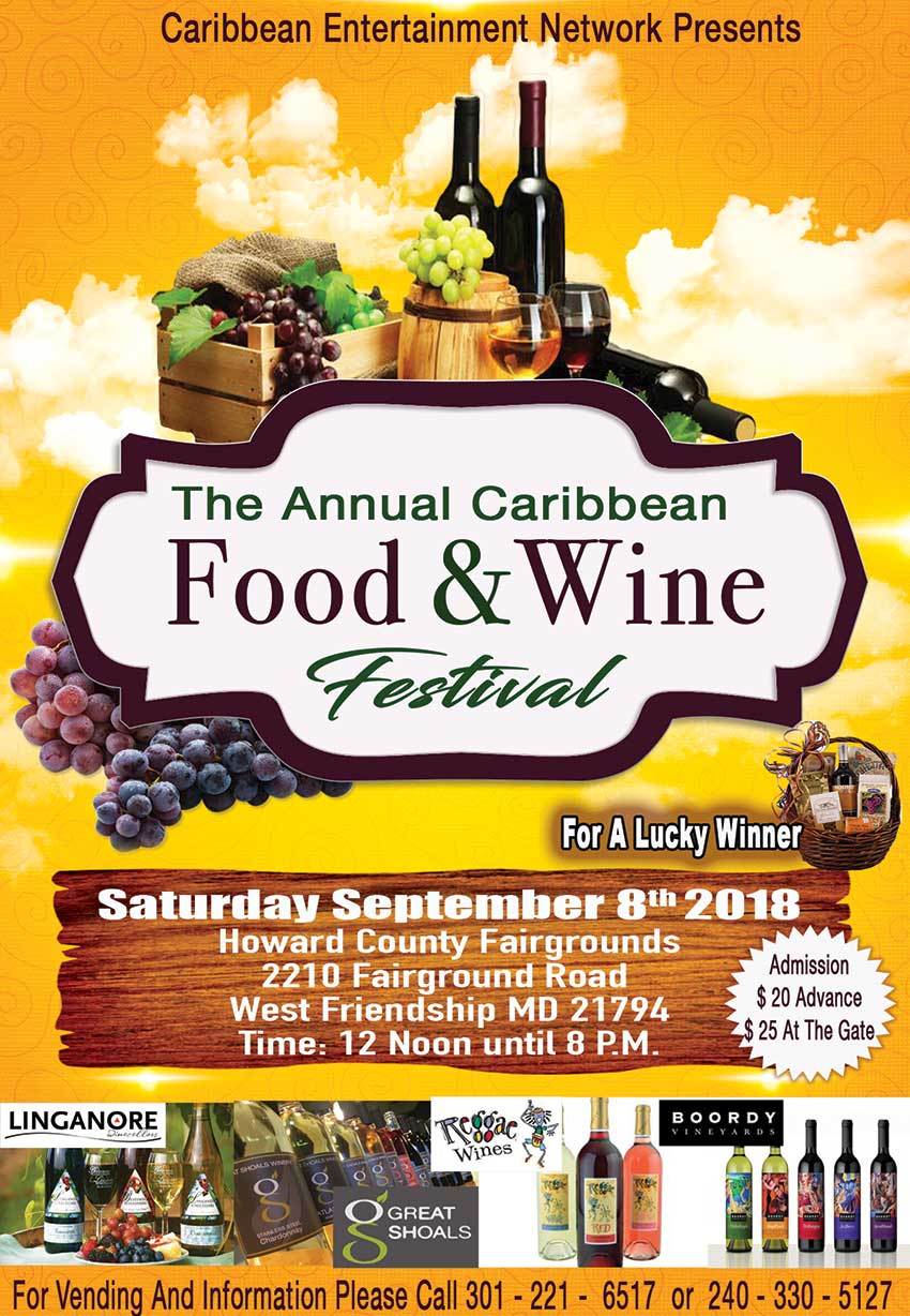 Caribbean Food and Wine Festival at Howard County Fairgrounds