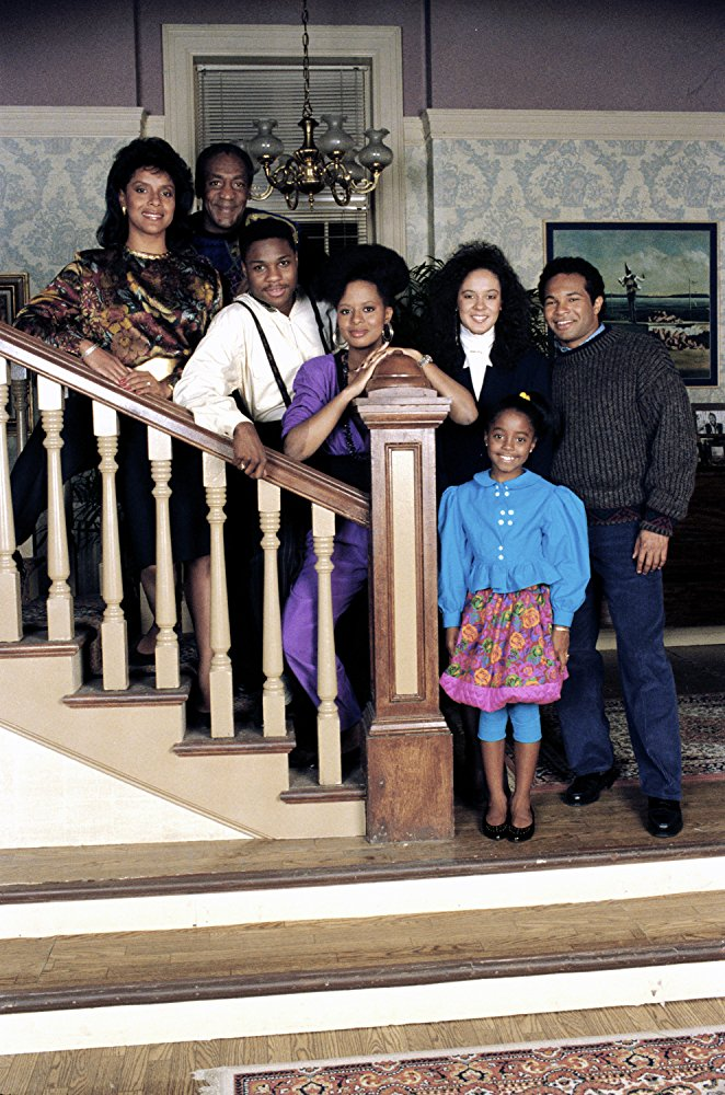 Geoffrey Owens and the Cast of the Cosby Show in 1984