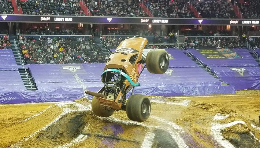 Scooby Doo at Monster Jam 2019.