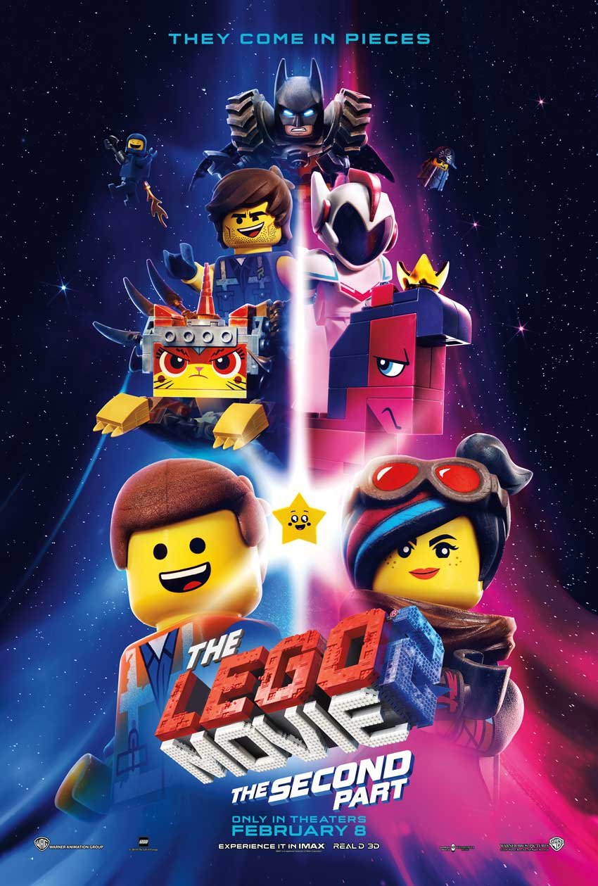 """The LEGO® Movie 2: The Second Part,"" from Warner Bros. Pictures and Warner Animation Group, in association with LEGO System A/S, a Warner Bros. Pictures release."