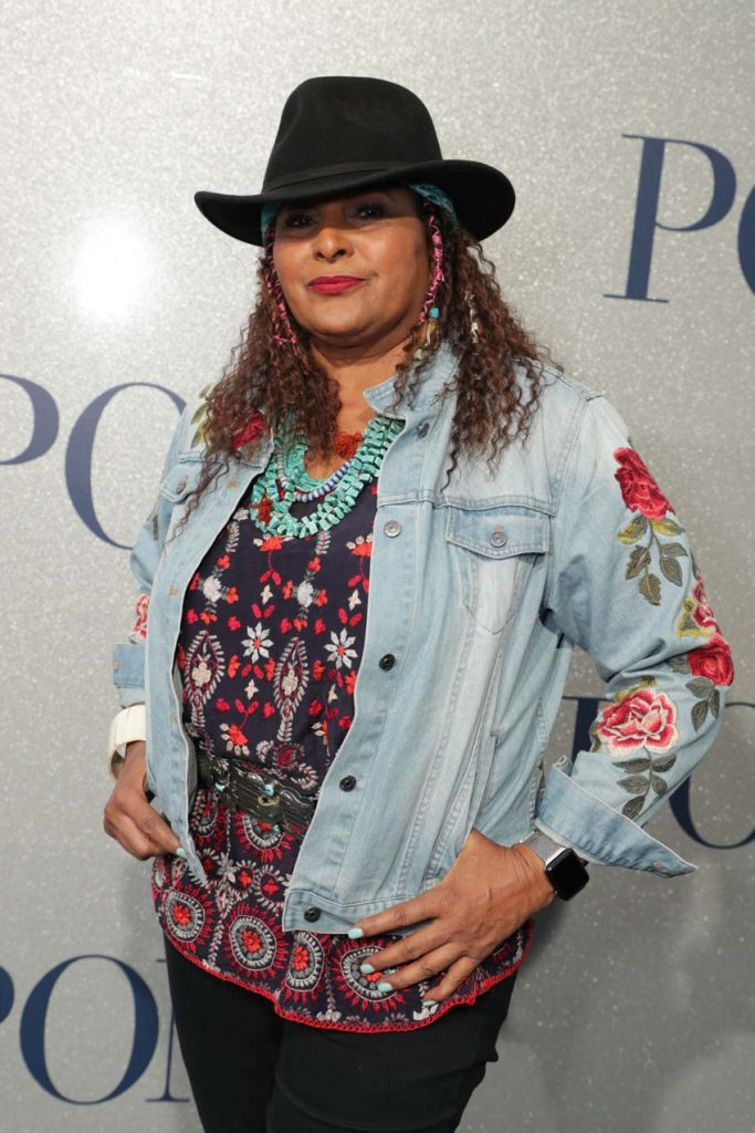 Pam Grier at the premiere of POMS