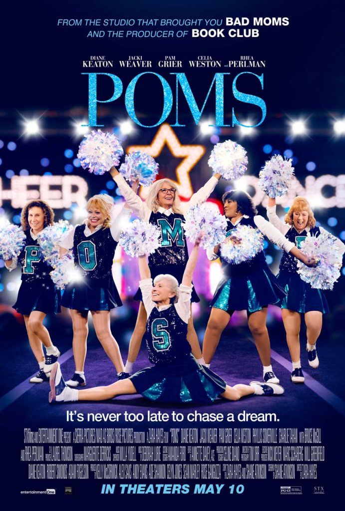 Enter for a chance to win free passes to a screening of POMS!