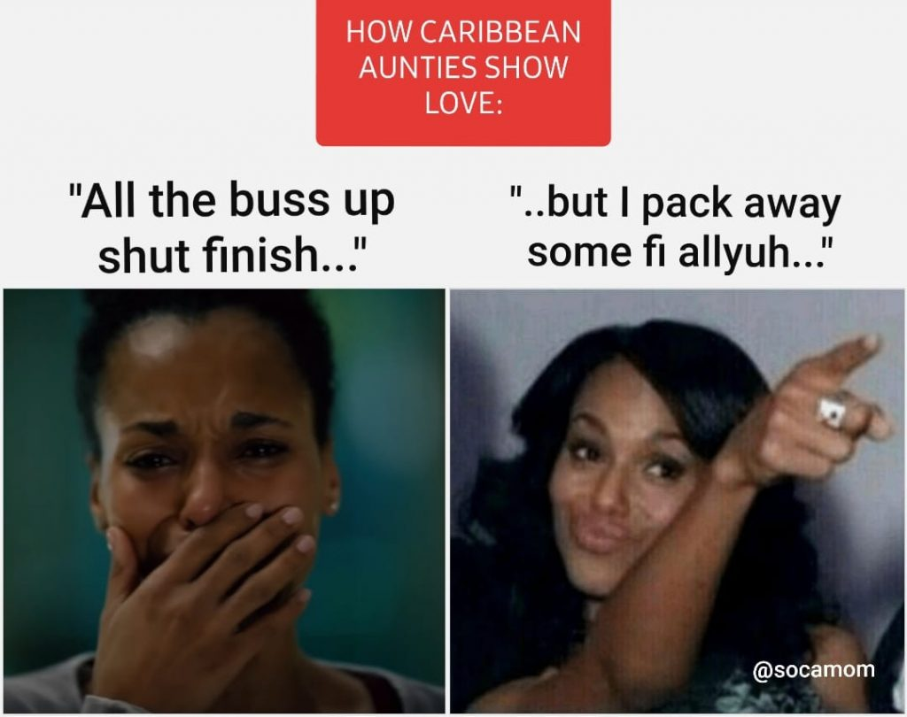 Kerry Washington Caribbean Auntie Meme