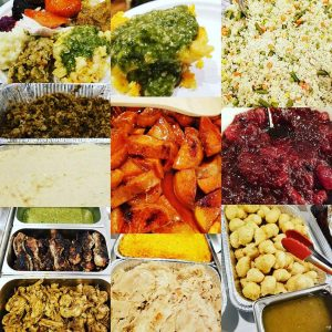 Caribbean American Thanksgiving Food