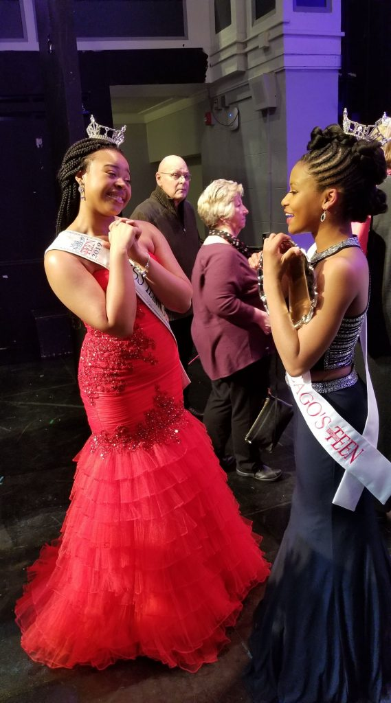 Photo of Eden Wilson and Imani Muse, Miss Chicago's Outsanding Teens for 2020 and 2019
