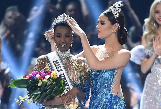 Miss Universe Zozibini Tunzi of South Africa